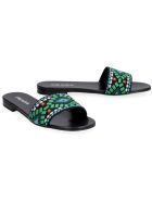 Prada Fabric Slides - black