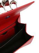 Alexander McQueen Knuckle Duster Shoulder Bag - Red