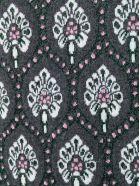 Be Blumarine Jacquard Highneck Pullover - Gr.mel.scuro/verde