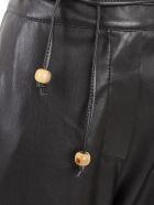 Nanushka Chimo Pants W/patchwork - Black