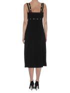 Versace Medusa Detail Buttons Cocktail Dress - Black
