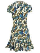 Stella McCartney Stella Mccartney Floral Print Dress - WHITE + FLOWER PRINT