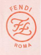 Fendi Pink Cotton T-shirt - Rosa