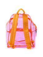 Eastpak Transparent Pink Plastic Backpack - Pink