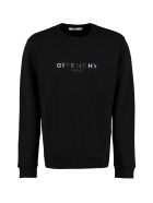 Givenchy Cotton Crew-neck Sweatshirt - black