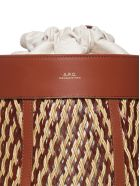 A.P.C. Braided Shoulder Bag - Cuoio beige