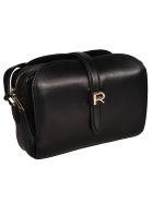 Rochas Logo Shoulder Bag - Black