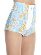 Miu Miu 'pathers' Shorts - Multicolor