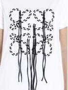 Loewe 'anagram Stitching' T-shirt - White
