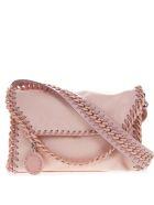 Stella McCartney Candy Mini Falabella In Pastel Pink Fabric - Pastel pink