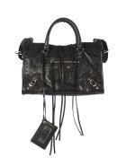 Balenciaga Classic City Mini Shoulder Bag - Black