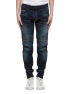 Balmain Biker Jeans - Bleu