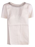 Weekend Max Mara Stud Detailed Top - Basic