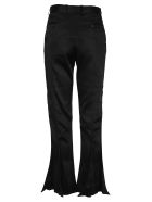 Y/Project Y/poject Satin Flared Pants - BLACK
