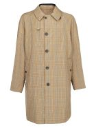 Lanvin Trench Coat - Medium brown/dark blue
