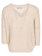 Roberto Collina Knitted Top - Beige