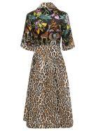Shirt a Porter Animal Motif Dress - Nero