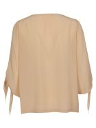 SEMICOUTURE Bow Detail Blouse - Nudo
