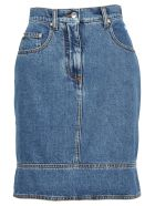 MSGM MSGM MSGM MULTI POCKETS DENIM SKIRT