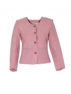 Bully Leather Jacket - Pink