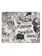 Dolce & Gabbana Printed Wallet - White