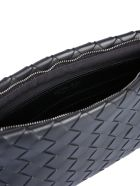 Bottega Veneta Braided Nappa Clutch - NERO