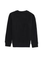 Kenzo Kids Printed Crew-neck Sweatshirt - black