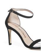 Stuart Weitzman Nunaked Straight Sandals - Black