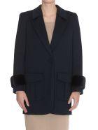 Fendi Piquet Jacket - Blue