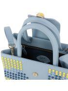 f.e.v. by Francesca E. Versace Handbag Shoulder Bag Women F.e.v. By Francesca E. Versace - sky blue