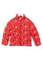 Moschino 'teddy Astronauta' Down Jacket - Red