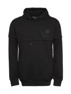 Philipp Plein Cotton Hoodie - black