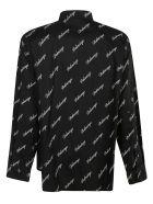 Balenciaga Logo Motif Print Shirt - Nero