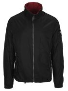 Prada Lightweight Reversible Jacket - BLACK+CERISE