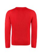 C.P. Company Ribbed Crew-neck Sweater - blue