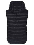 Moncler Sleeveless Zip Padded Jacket - Nero
