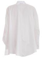 Emporio Armani Shirt L/s Over Twill - Bianco