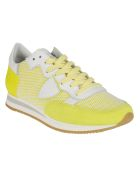 Philippe Model Perforated Running Sneakers - Yellow
