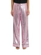 In The Mood For Love Loren Sequined Pyjama Pants - Rosa
