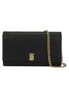 Burberry Hannah Chain Wallet - Black