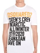 Dsquared2 'caten's Crew' T-shirt - White