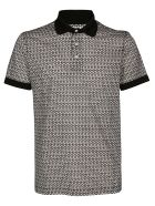 Salvatore Ferragamo Polo Shirt - BLACK WHITE