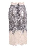 Paco Rabanne Polyester Skirt - Silver