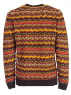 Drumohr Sweater Crew Neck Supergeelong - Giallo Arancio