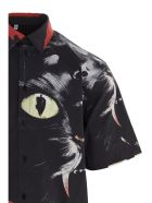 MSGM 'gatto A Nove Code'  Shirt - Multicolor