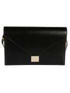 Victoria Beckham Envelope Clutch - Black