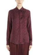 Gabriela Hearst 'mirtha' Blouse - Burgundy