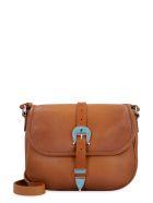 Golden Goose Rodeo Leather Crossbody Bag - Saddle Brown