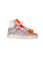 Off-White Sneakers GLITTER OFF COURT HI-TOP SNEAKERS