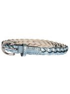 B-Low the Belt Braided Belt - Sky Silver